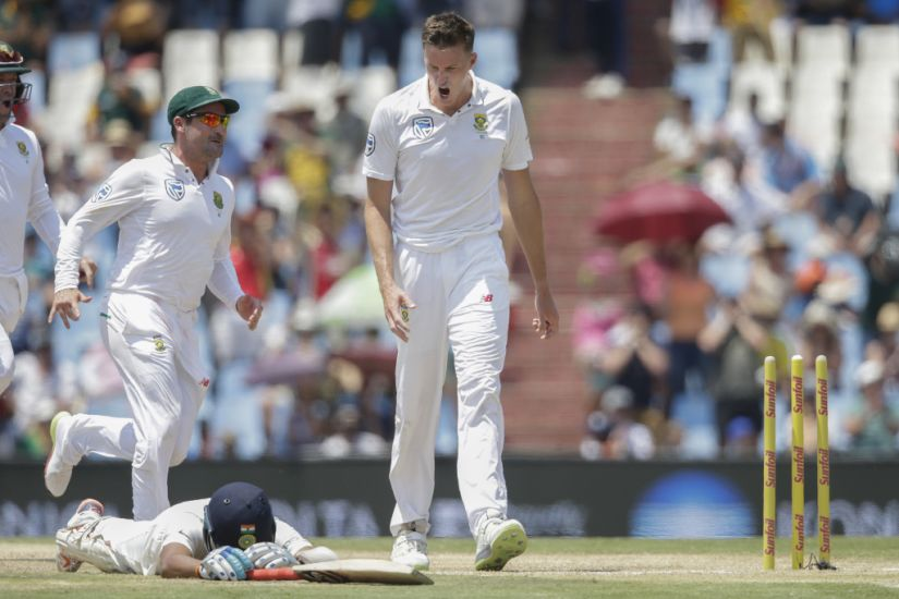Cheteshwar Pujara became the first Indian batsman to be run out in both innings of a Test match. AFP