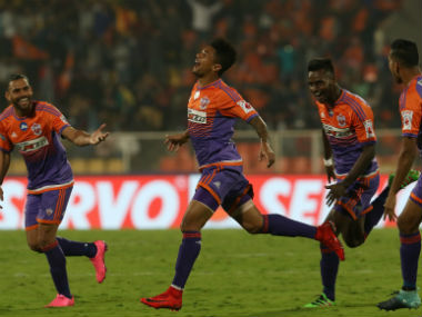 ISL 201718 FC Pune City back to winning ways after outclassing Teddy Sheringhams ATK