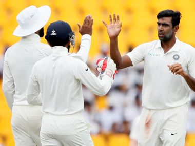 Ravichandran Ashwin picked up crucial wickets to keep India in the contest on Day 1 of the Centurion Test against South Africa. Reuters