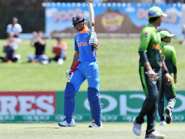 Shubman Gill won the 'Man of the Match' award for his unbeaten 102. Image credit: Twitter/@cricketworldcup