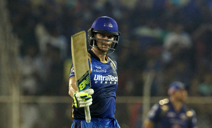Steve Smith was the only player retained by Rajasthan Royals ahead of the auction. Image credit: Official Facebook page of Rajasthan Royals