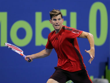 German Open Dominic Thiem marks return from injury with win over qualifier Corentin Moutet in opening round