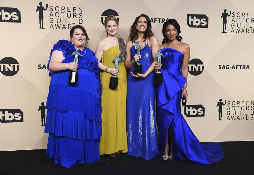 Screen Actors Guild Awards 2018 This Is Us Veep casts claim top TV series honours
