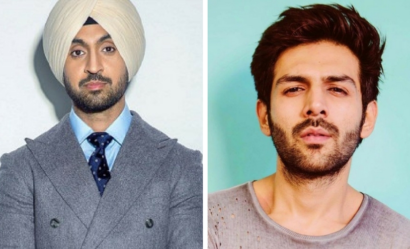 Diljit Dosanjh Kartik Aaryan to reportedly star in upcoming romcom film might roll in May