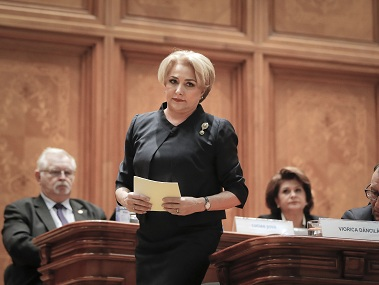 Viorica Dancila first elected woman prime minister of Romania sworn in with 27member Cabinet