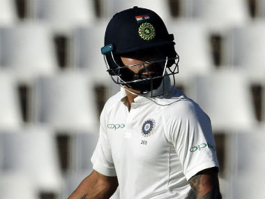 Virat Kohli added that his 153 in the first innings meant nothing now as it couldn't help his team win. AP