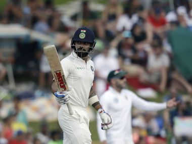 India skipper Virat Kohli struck a sublime 153 in first innings of the second Test. AP