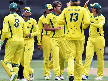 File picture of the Australian team. ICC