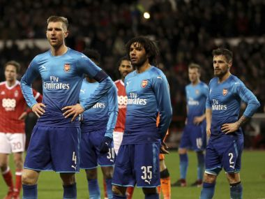 FA Cup Abject Arsenal sent packing by Nottingham Forest Tottenham Hotspur shrug off AFC Wimbledon