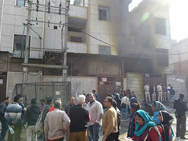 Bawana fire DSIIDC submits preliminary report AAP govt blames BJPled civic body for incident