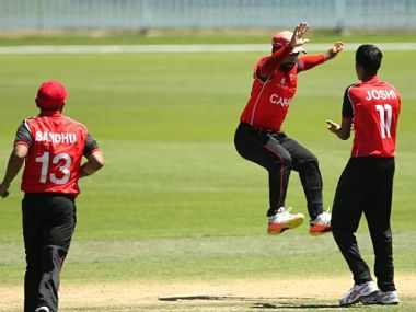 Canada will lock horns with Papua New Guinea in the first Plate League quarterfinal of the ICC U-19 World Cup 2018. Image courtesy: ICC