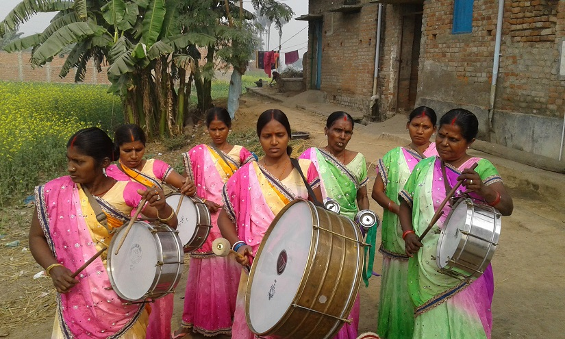 An allwomen drumming band in Bihar is empowering its members and a marginalised community