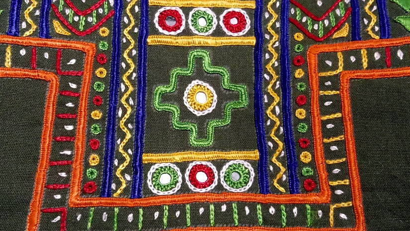In Kutch one project looks at documenting reviving 50 styles of embroidery practised by 12 local communities