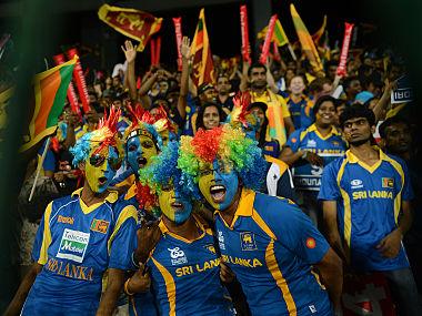 File image of Sri Lankan cricket fans enjoying their time in the stadium. AFP
