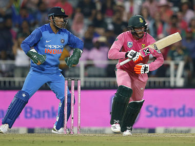 Heinrich Klaasen was adjudged the Player of the Match for his match turning knock 43 off 27 balls. AFP