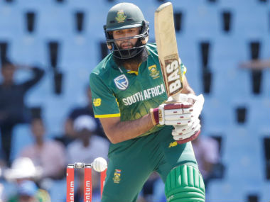 South Africa's Hashim Amla in action in the 2nd ODI against India at the Centurion. AFP
