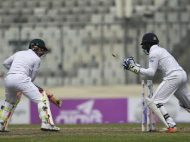 The ICC penalised the Sher-e-Bangla National Stadium in Dhaka for its sub par pitch. AFP