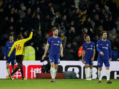 Premier League Watford thump Chelsea 41 to pile more pressure on embattled Blues boss Antonio Conte