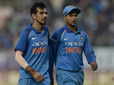 Yuzvendra Chahal and Kuldeep Yadav accounted for 33 wickets in the ODI series against South Africa. AFP