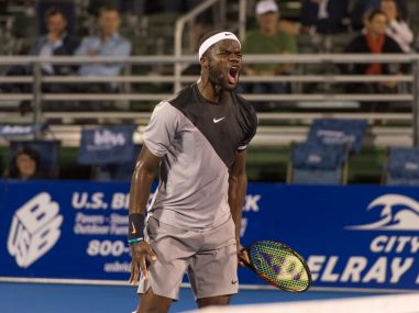 American Frances Tiafoe wants to be a role model and inspire black kids to take up tennis