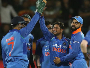 India will enter the T20I leg of their tour of South Africa as clear favourites. Image credit: Twitter/@BCCI