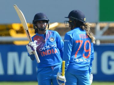 The Indian women showed both belief and execution to post India's highest ever total. Image courtesy: Twitter/@OfficialCSA