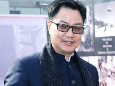 Sports Minister Kiren Rijiju writes to UK sports secretary Nicky Morgan over inclusion of shooting in 2022 CWG