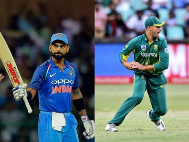 Virat Kohli and Aiden Markram, captain of India and South Africa. Agencies