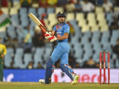 India's Manish Pandey bats during the second T20I on Wednesday. AFP