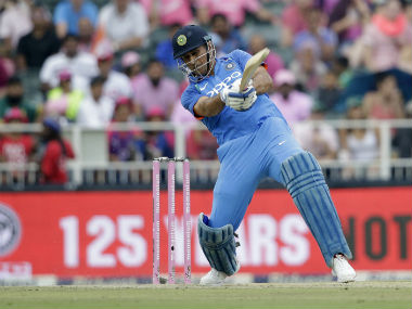 MS Dhoni has been placed in Grade A, a level below Grade A+. AFP