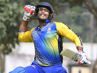 Mayank Agarwal is the leading run-scorer in the ongoing Vijay Hazare Trophy. Image credit: Twitter/@mayankcricket