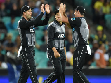 New Zealand will hope to use home advantage to notch up their first win. AFP
