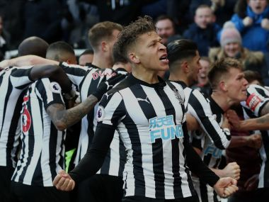 Premier League Newcastle United ride on Matt Ritchies winner to shock Manchester United