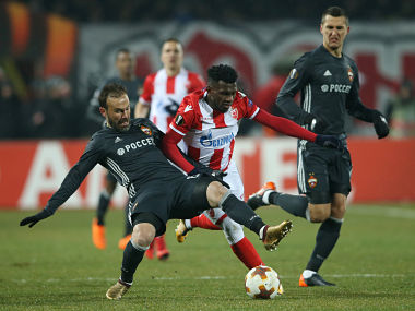 Europa League Red Star Belgrade play out drab draw against CSKA Moscow in last32 tie