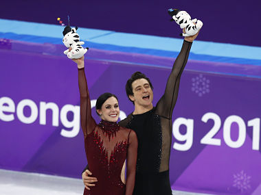 Winter Olympics 2018 Canadas Tessa Virtue and Scott Moir clinch ice dance gold after recordbreaking performance