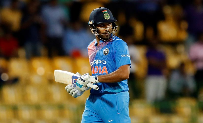 Rohit Sharma's scores in the four ODIs against South Africa read: His scores in the ongoing ODI series against South Africa read 20,15,0 and 5 respectively. Reuters