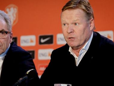 Ronald Koeman says hes ready for difficult challenge of taking Netherlands back to big tournaments