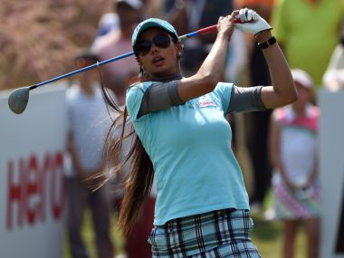 Australian Ladies Classic Golf Tournament Indias Sharmila Nicollet off to strong start finishes jointfourth after first round