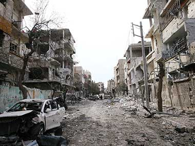 Syria conflict More than 1000 civilians dead in Eastern Ghouta since 18 Feb govt forces isolate rebel town Duoma