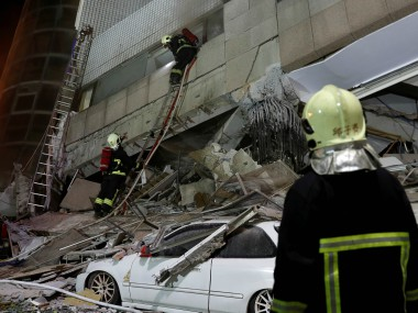 Taiwan earthquake Death toll rises to nine as two more bodies are discovered in Hualien dozens remain missing