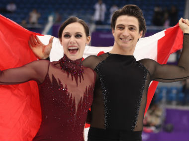 Winter Olympics 2018 We skated with our hearts says Tessa Virtue after clinching ice dance gold with partner Scott Moir