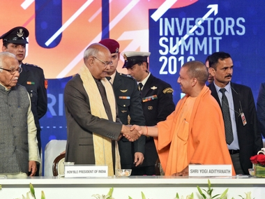 UP Investors Summit 2018 Ram Nath Kovind attends closing ceremony says state has potential to be Indias biggest economic power