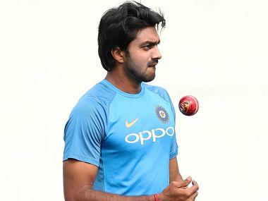 File image of Vijay Shankar. Image courtesy: BCCI