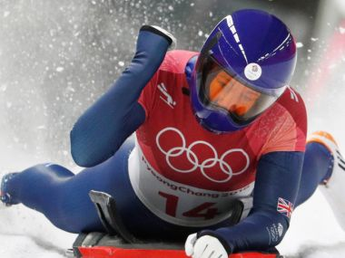Winter Olympics 2018 Lizzy Yarnold retains skeleton gold Laura Deas adds British bronze