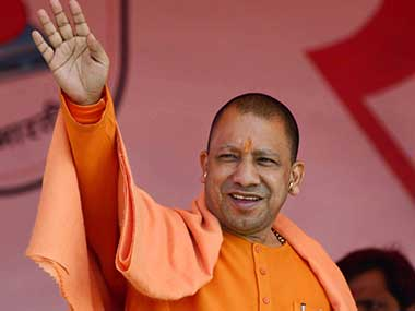 Yogi Adityanaths office hits back at Priyanka Gandhi says Uttar Pradesh CM wore saffron clothes for public service