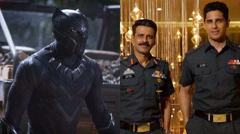 Black Panther Aiyaary boxoffice collections Marvels film races ahead with Rs 7 cr Neeraj Pandeys film trails at Rs 3 cr