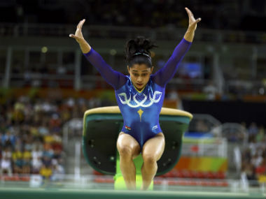 Artistic Gymnastics World Cup Indias Dipa Karmakar qualifies for Vault final B Aruna Reddy suffers knee injury