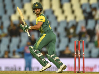 South African captain JP Duminy in action in the 2nd T20I of the series against India in Cernturion. AFP