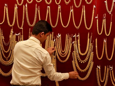 Gold drifts lower by Rs 240 to Rs 38530 per 10 gram on weak international prices