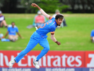 India's Ishan Porel in actionduring the U-19 World Cup final against Australia in Mount Maunganui. AFP